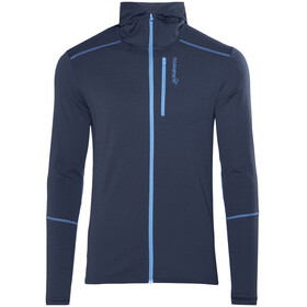 Norrøna M's Trollveggen Warm/Wool1 Zip Hoodie Indigo Night